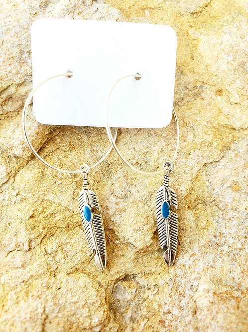 Feather Hoops (464)