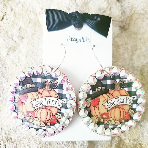 'Give Thanks' Round Sparkles (483)