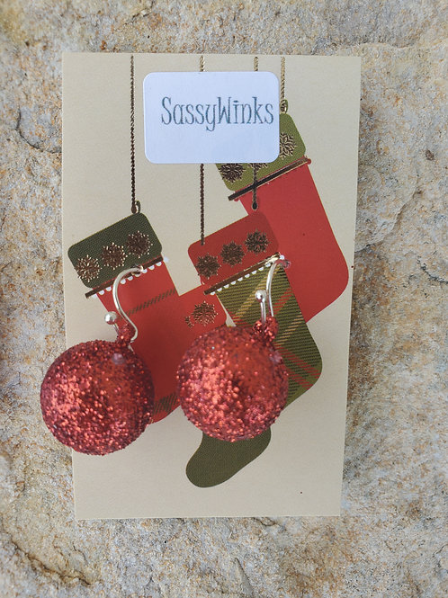 Christmas Glitter Ornaments (633)