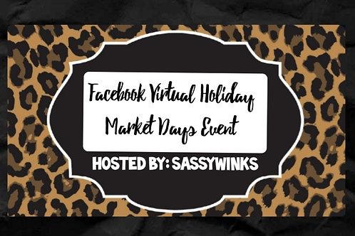 Market Days Vendor Entry