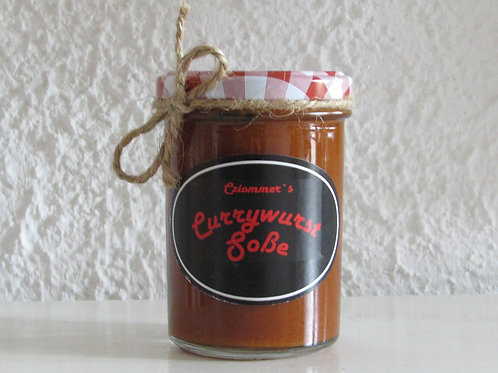 Cziommer's Currywurst Soße