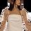Thumbnail: Antique Gold Lace Bolero - Short Sleeve