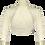 Thumbnail: Ivory Windsor Lace Bolero -  ¾ Sleeve