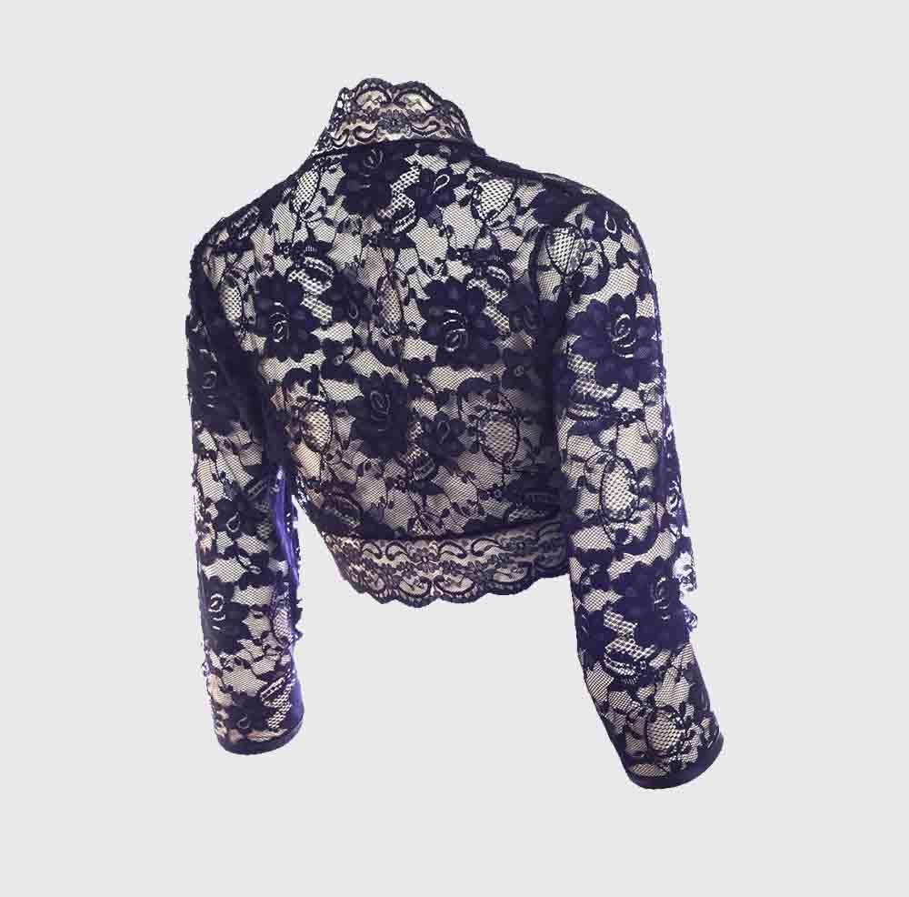 Blue Lace Back Side