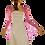 Thumbnail: Candy Pink Lace Bolero - Bell Sleeve