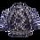 Thumbnail: Navy Blue Lace Bolero - Short Sleeve