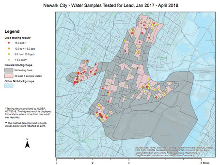 City of Newark begins Bottled Water Distribution and Water Advisory