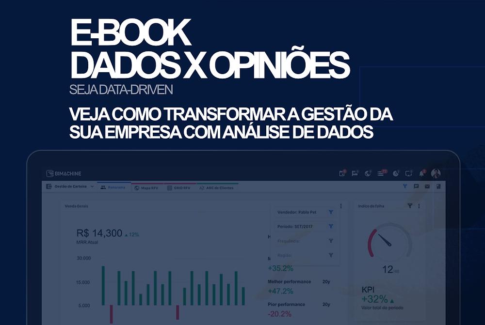 dados vs opiniões