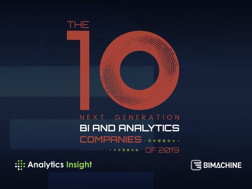 BIMachine é destaque na revista americana Analytics Insight