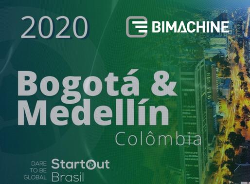 BIMachine é aprovada no ciclo Bogotá – Medelin do Programa StartOut
