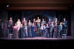 Cast photo of Sweeney Todd with Pittsburgh Festival Opera
