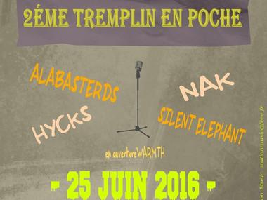 HYCKS au tremplin Station Music (@Le Poche, Béthune, Fr)
