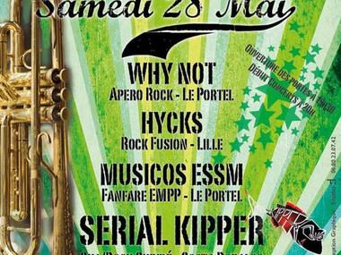 HYCKS au Portel pour la release party des Serial Kipper