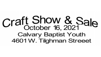 2021 Craft Show & Sale