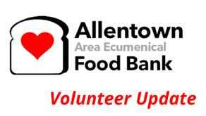 Allentown  Area Ecumenical Food Bank Update