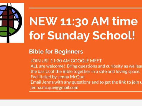 Online Sunday School