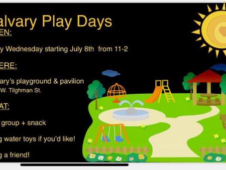 Calvary Play Days