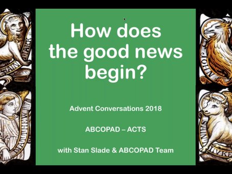 How Does the Good News Begin?