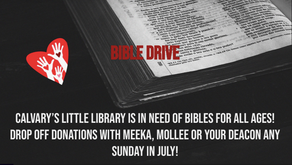 Bible Drive!