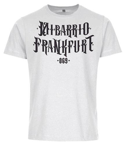 Mi Barrio T-Shirt Mexican Letter