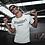 Thumbnail: Mi Barrio Casual Frankfurt La Familia Herren T-Shirt,schwarz,rot,weiß,grau