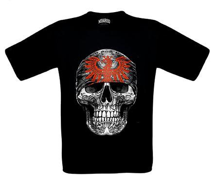 Mi Barrio Art Skull Kids T-Shirt