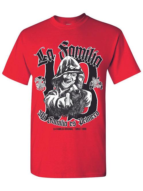 "La Familia Original, T-Shirt ""Mi Familia es Primero"", weiß, rot oder schwarz"