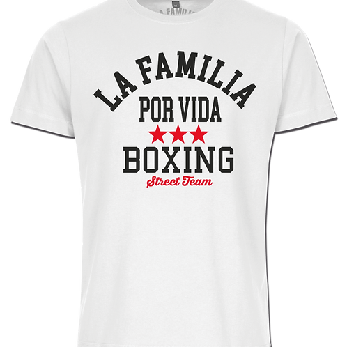 La Familia Original Boxing T-Shirt schwarz und weiß