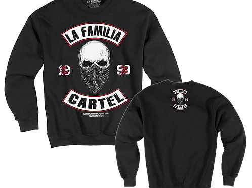 "LA FAMILIA ORIGINAL. ""SKULL MC"" CARTEL SWEAT-SHIRT"