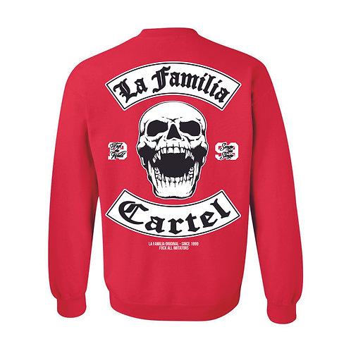 "LA FAMILIA ORIGINAL. ""MC13"" SWEAT SHIRT RED"