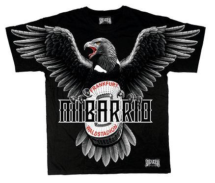Mi Barrio Adler Art Waldstadion Herren T-Shirt