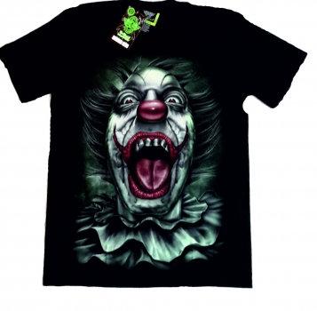 Kopie von Rock Eagle Herren T-Shirt Joker clow in the dark, leuchtet im Dunkeln