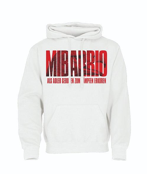 """Mi Barrio, Hooded, """"als Adler geboren zum Kämpfen Erkoren"""", weiß o schwarz"""