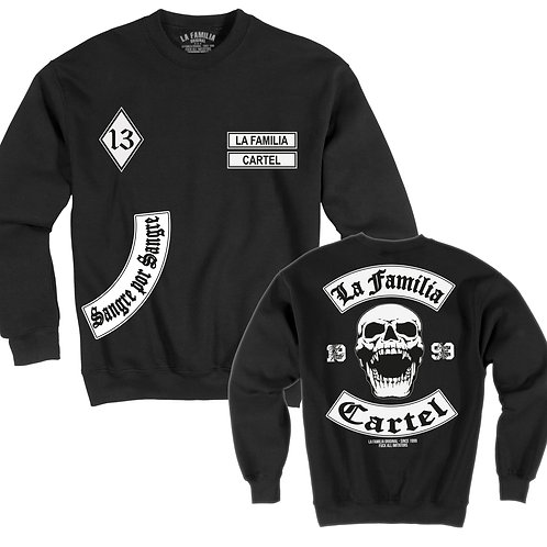 "LA FAMILIA ORIGINAL. ""MC13"" SWEAT SHIRT"