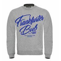 Mi Barrio Original Frankfurter Bub Herren Sweatshirt, schwrz, grau
