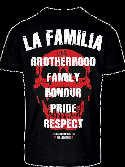La Familia Original Brotherhood T-Shirt , schwarz