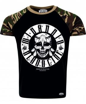 Mi Barrio Bloodline Camouflage Ärmel , Herren T-Shirt