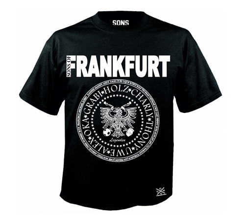 Sons of Frankfurt Legenden Herren T-Shirt , 100% Baumwolle