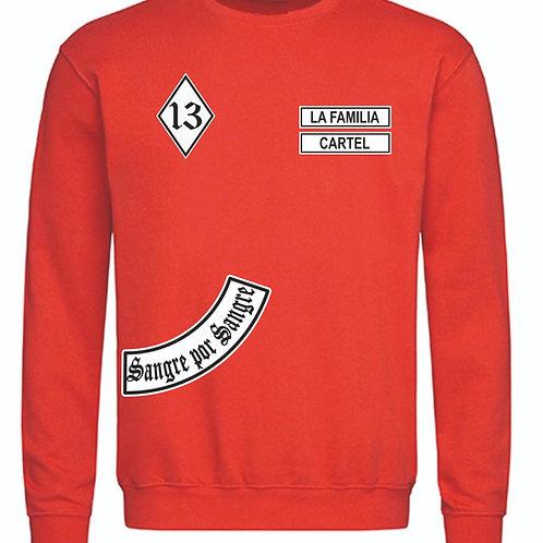 MC13 RED  SWEATSHIRT