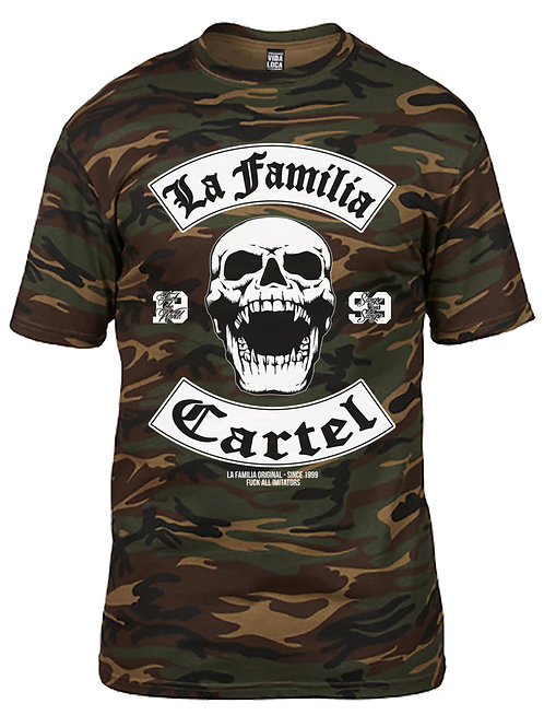 "LA FAMILIA ORIGINAL ""MC13"" FITTED HERREN FITTED T-SHIRT"