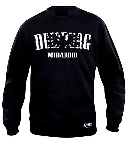 Mi Barrio Duisburg Sweatshirt schwarz