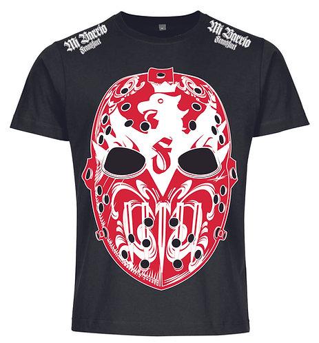 """Mi Barrio, """" LA MASK"""" Herren T-Shirt, schwarz"""