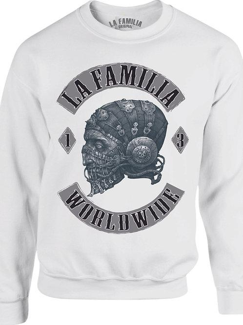 La Familia Original Worldwide, Sweat-Shirt in schwarz oder weiß