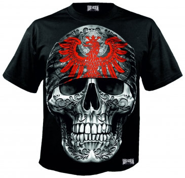 MI BARRIO ART BIG SKULL FRANKFURT T-SHIRT
