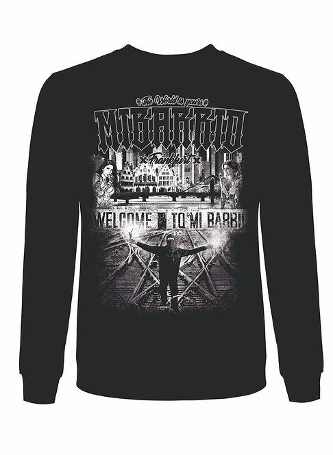 Welcome to Mi Barrio Sweatshirt, schwarz oder weiß