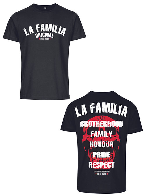 La Familia Original Brotherhood T-Shirt , schwarz