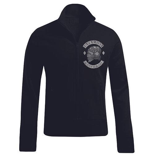 La Familia Original Worldwide, Zipper Sweat Jacke in schwarz