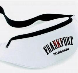 Mi Barrio Frankfurt Hib Bag weiß mit Frankfurt Adler Stick