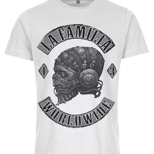 La Familia Original Worldwide, T-Shirt in schwarz oder weiß