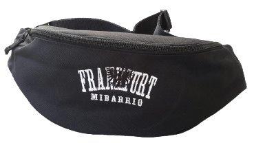 Mi Barro Frankfurt Hib Bag schwarz, Black and Withe Frankfurt Adler Stick